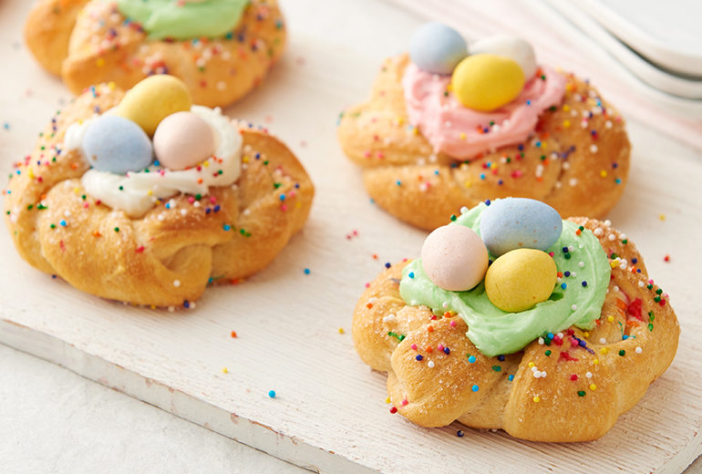 Easter Crescent Wreaths